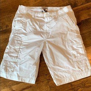 Express men's cargo shorts